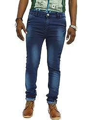 Jugend Blue Washed Stretchable Skinny Fit Jeans For Men