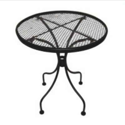DC America Wrought Iron End Table
