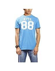 Kite Men's Round Neck Cotton Jersey T-Shirt - B00P3UA38G