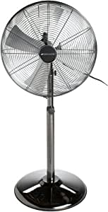 metal pedestal fan bionaire bsf1610anc u all metal 16 inch 3 4097