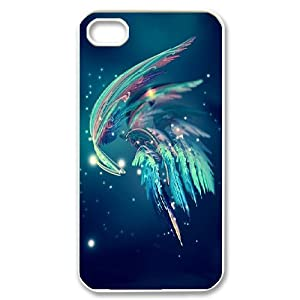 iphone 4s cases cheap iphone 4 4s cases blue feather girly 4653