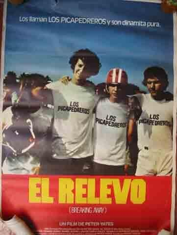Poster Cine - Movie Poster: EL RELEVO (Breaking Away) - Original