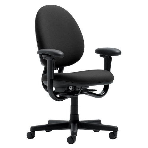 Steelcase Criterion Chair, Black Fabric