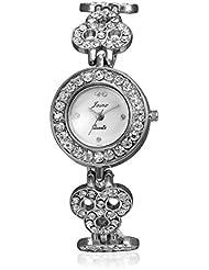 Jainx Silver Diva Wristband Style Analog Premium Watch For Women,Ladies & Girls.JXW511