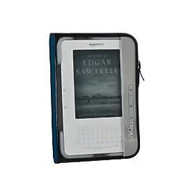"M-Edge Leisure Kindle Jacket (Fits 6"" Display, Latest Generation Kindle), Navy/Gray"
