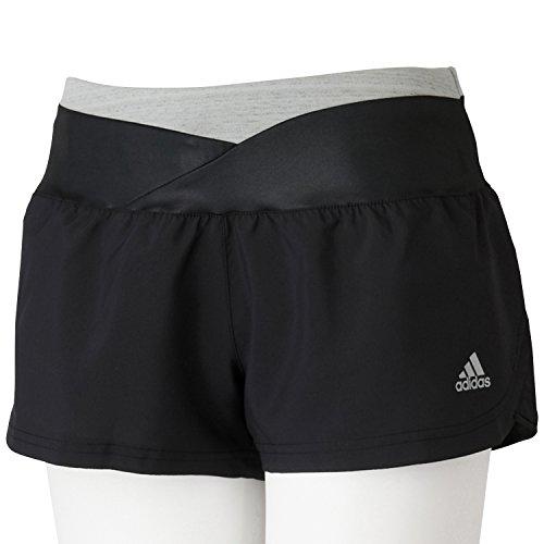 (アディダス)adidas W Snova リフレクト グリッドショーツ IQZ91 M36469 ブラック/ブラック J/M