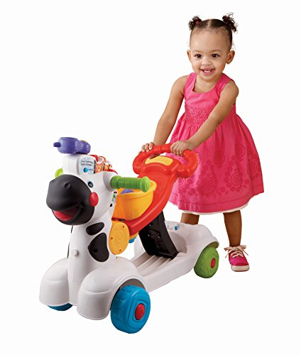 Welp VTech 3-in-1 Learning Zebra Scooter - Epic Kids Toys XL-55