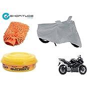 ESHOPITUDE-Bike & Car Cleaning & Utility Combo Set Of 3-Honda INTERCEPTOR