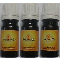 Aromatika® Lemongrass Diffuser Oil (Perfume Oil For Oil Burner) (combo Pack Of 3 Pcs. Of 10 Ml.)