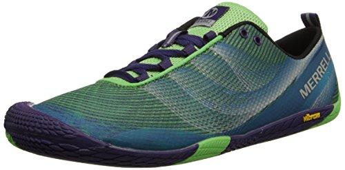 Merrell VAPOR GLOVE 2 - Zapatos de deporte de exterior para mujer, color verde (bright green/purple), talla 37
