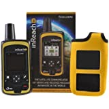 DeLorme InReach SE Two-Way Satellite Communicator With Built In Navigation With A YELLOW Flotation Case By GTC