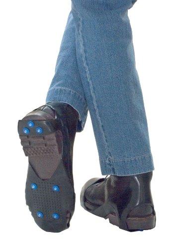 Schuhspikes Schuh-spikes Schneeschuhe Eiskrallen Sicher durch den Winter Schuh-Spikes, Antirutsch-Überziehschuh ab Gr. 42, 1 Paar