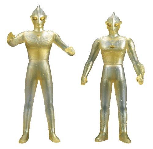 Ultraman Super 8 Ultra Brothers Movie: Ultraman Tiga & Mebius Translucent Figure Set