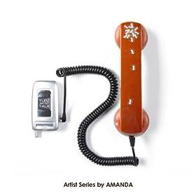 Yubz Talk Artists Series Amanda Retro Cell Phone Handset