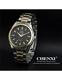 Handcuffs Chenxi Fashion Military Men Sports Wrist Watch Full Steel Luxury Watch