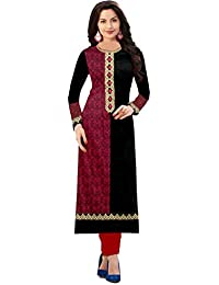 Sunday Best Selling Offer On Semi_Stiched Black Color Kurti Low Price On Amazon (1015_Black_Kurti) By Royalty