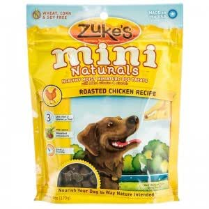 Amazon.com : Zukes Mini Naturals Dog Treats Roasted