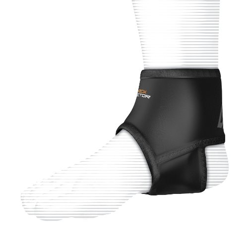 Shock Doctor Ankle Sleeve with Compression Fit (Black ...