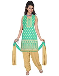 Elan Vital Women's Silk Straight Salwar Suit