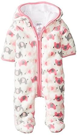 Amazon.com: ABSORBA Baby-Girls Newborn G Elephant Fuzzy ...
