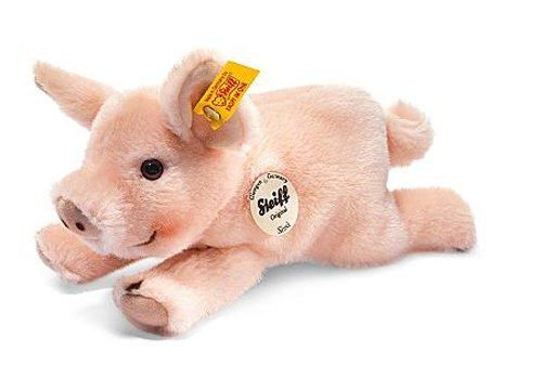 Steiff Little Friend Sissi Piglet Plush, Pale Pink