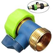 3/4'' Thread One Way Brass TPR Water Tap Splitter/Connector Garden Irrigation