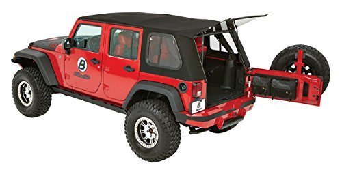 Bestop 54853-17 Trektop Pro Hybrid Soft Top for JK Unlimited 4-door