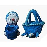 Loomkart Kids Combos Of Soft Toy Pen Holder And Super Soft Bag - B01AEV5M1G