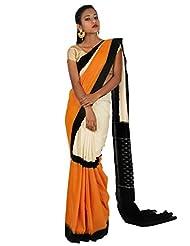 Cheneta-Handloom It IS Womens, Pure Cotton Ikat Handloom Sari.