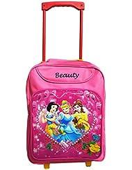 Royle Katoch Princess Barbie 15 Inch Pink Waterproof Trolley Hybrid Children's Backpack