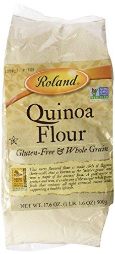 Roland Quinoa Flour, 17.6 Ounce bag of flour