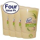 Lysol No-touch Hand Soap Refill Aloe Vera And Vitamin E 8.5 Oz 4 Pack
