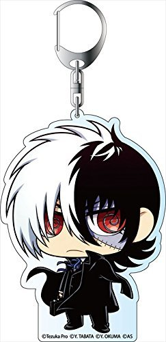 Black between Young Black Jack Deca Keychain thymidylate character man C