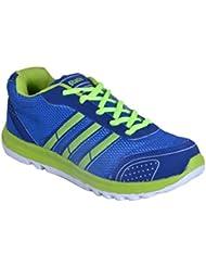 SMITHWEAR Blue & Green Sport Shoes