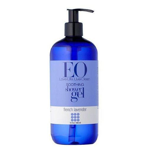 EO Shower Gel French Lavender 16-Ounce Bottles (Pack Of 2)