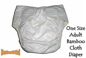 Amazon.com : Adjustable Reusable/Washable BAMBOO ADULT ...