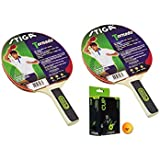 Stiga Torando Table Tennis Racket And Stiga Cup Table Tennis Balls- TT Kit