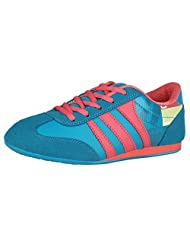 ADK Blue & Pink Sports Shoes For Women