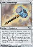 Magic: the Gathering - Dead-Iron Sledge - Mirrodin - Foil