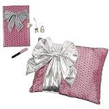 Moxie Teenz Moxie Teenz Secrets N Dreams Bow Pillow Set - Diary With Lock & Key And Pillow With Secret Storage