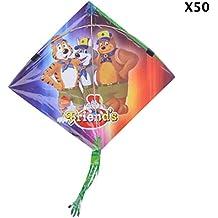 Mayur Kites, Multi-Coloured (Set Of 50, 30 Cm X 30 Cm X 0.5 Cm) - B01N35ZEXN