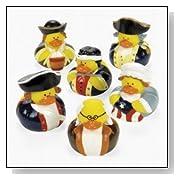 Historic Patriotic Rubber Ducks