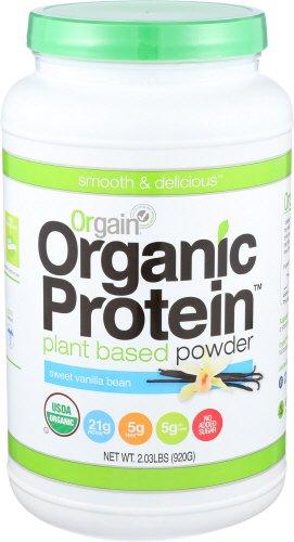 Orgain Organic Plant Based Protein Powder best food supplements