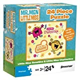 Mr. Men Little Miss Sunshine 24 Piece Puzzle - Little Miss Chatterbox & Little Miss Sunshine