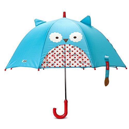 Skip Hop Zoo Little Kid and Toddler Umbrella, Multi Otis Owl
