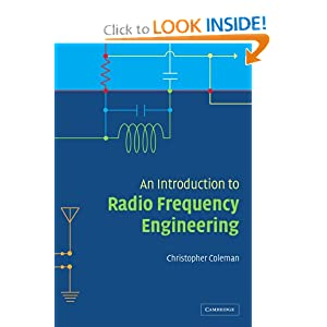 An Introduction to Radio Frequency Engineering Christopher Coleman