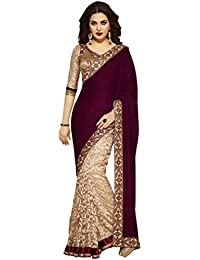 Sarees (Women's Clothing Saree For Women Latest Designer Wear Saree Collection In Latest Saree Beautiful Bollywood...