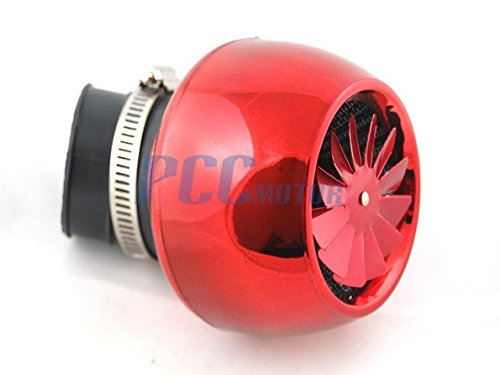 6Z Performance Air Box Filter Motorcycle Scooter Go Kart GY6 49cc 50cc RED AF42