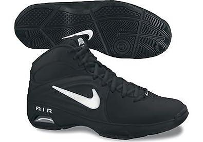 Womens Nike Air Visi Pro III Basketball Shoe Black/Metallic Summit White Size 11