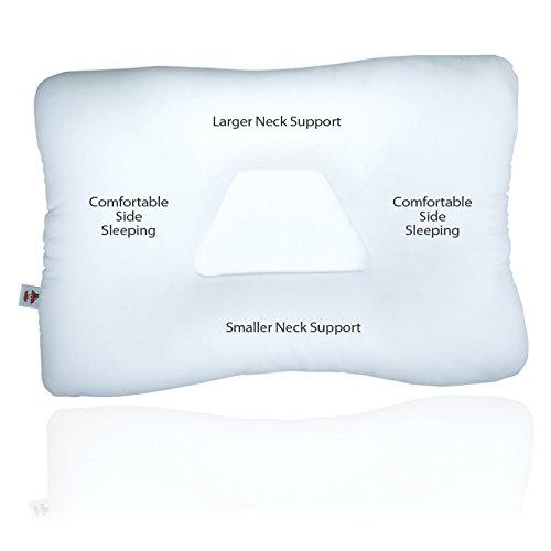 Core Products Tri-Core Cervical Pillow, FIB-222, Mid-Size, Gentle